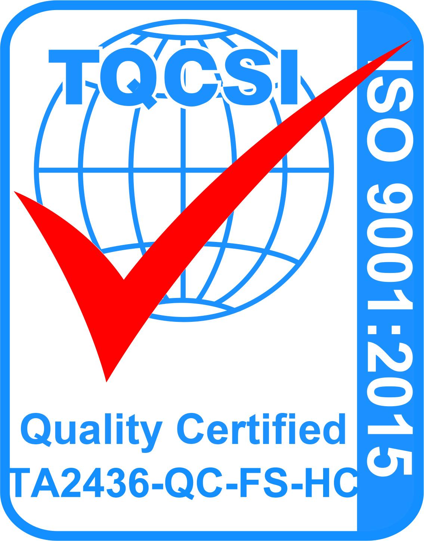 TA2436-QC-FS-HC 9001 2015 Logo